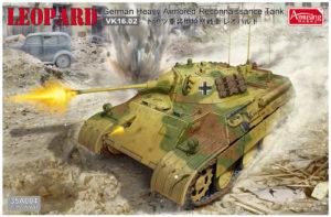 Amusing Hobby VK 16.02 Heavy Armoured German Renaissance Vehicle Model Kit