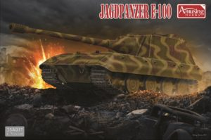 AMUSING HOBBY JAGDPANZER E-100 TANK MODEL KIT